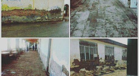 مدرسه مخروبه بیرامی سیمین شهر