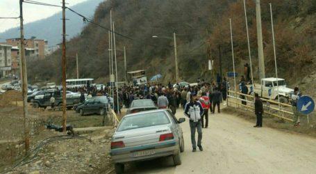 تجمع ساکنین روستای زیارت گرگان