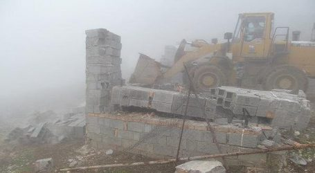 اجرای حکم تخریب ۱۰ بنای غیرمجاز در روستای زیارت