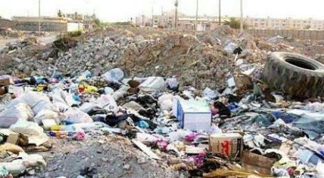 کشت زباله در زمین های آزادشهر