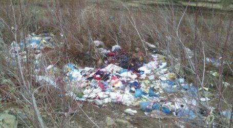 معضل زباله در  روستا های  جرگلان