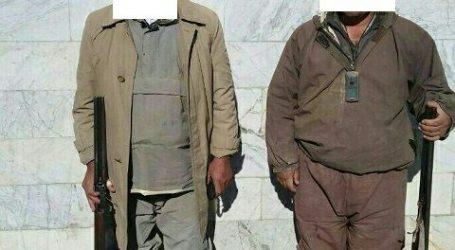 دستگیری دو شکارچی در بندرترکمن و گمیشان