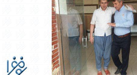 آزادی یک زندانی محکوم به اعدام از زندان شیراز